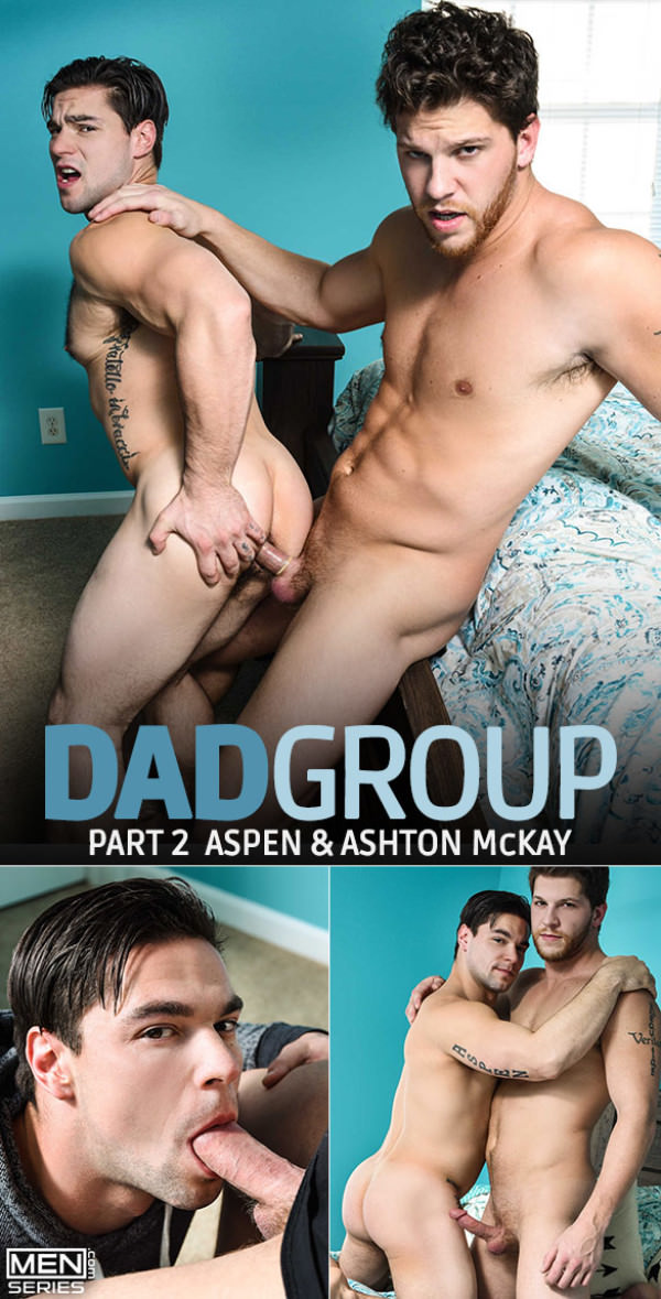 Str8toGay Dad Group, Part 2 Aspen bottoms for Ashton McKay Men.com