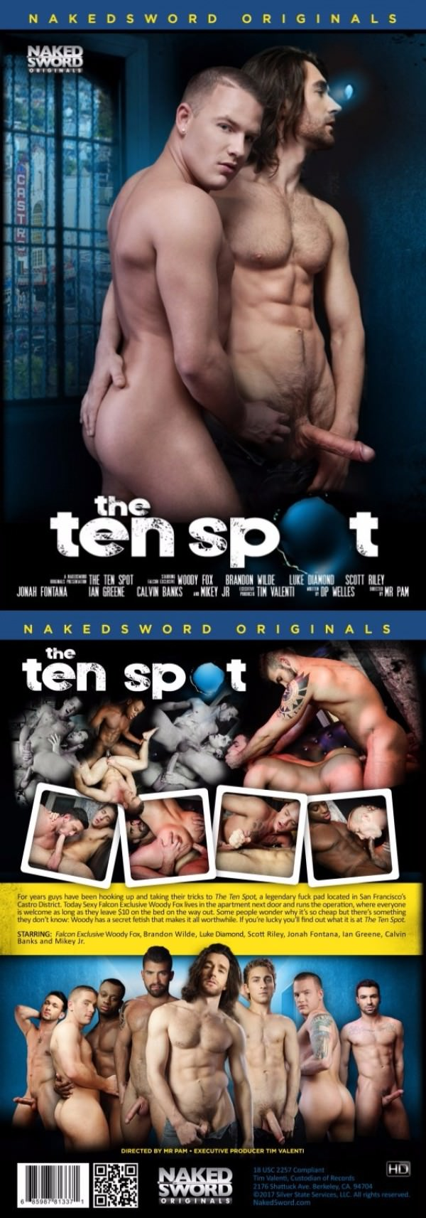 NakedSword The Ten Spot DVD
