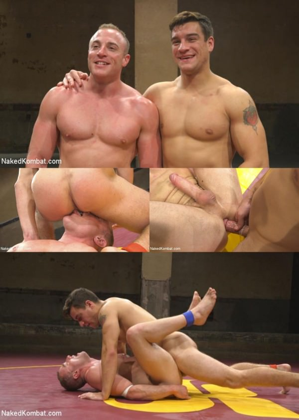 NakedKombat Pound for Pound Two Muscled Hunks Battle for Sexual Domination - Jordan Boss, Jacob Durham