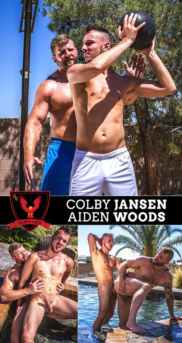 ColbysCrew Shooting Hoops Colby Jansen & Aiden Woods