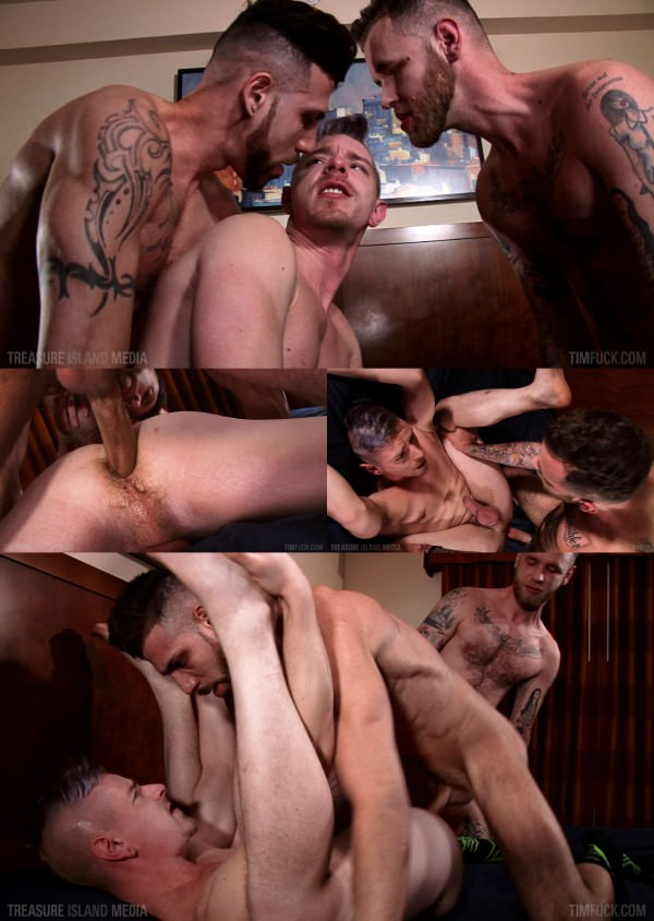 TimFuck Cody Winter, Ryan Powers FX Rios Bareback