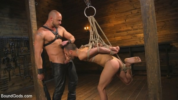 BoundGods New house slave offers himself to the sexual desires of Master Colter Jessie Colter Chance Summerlin