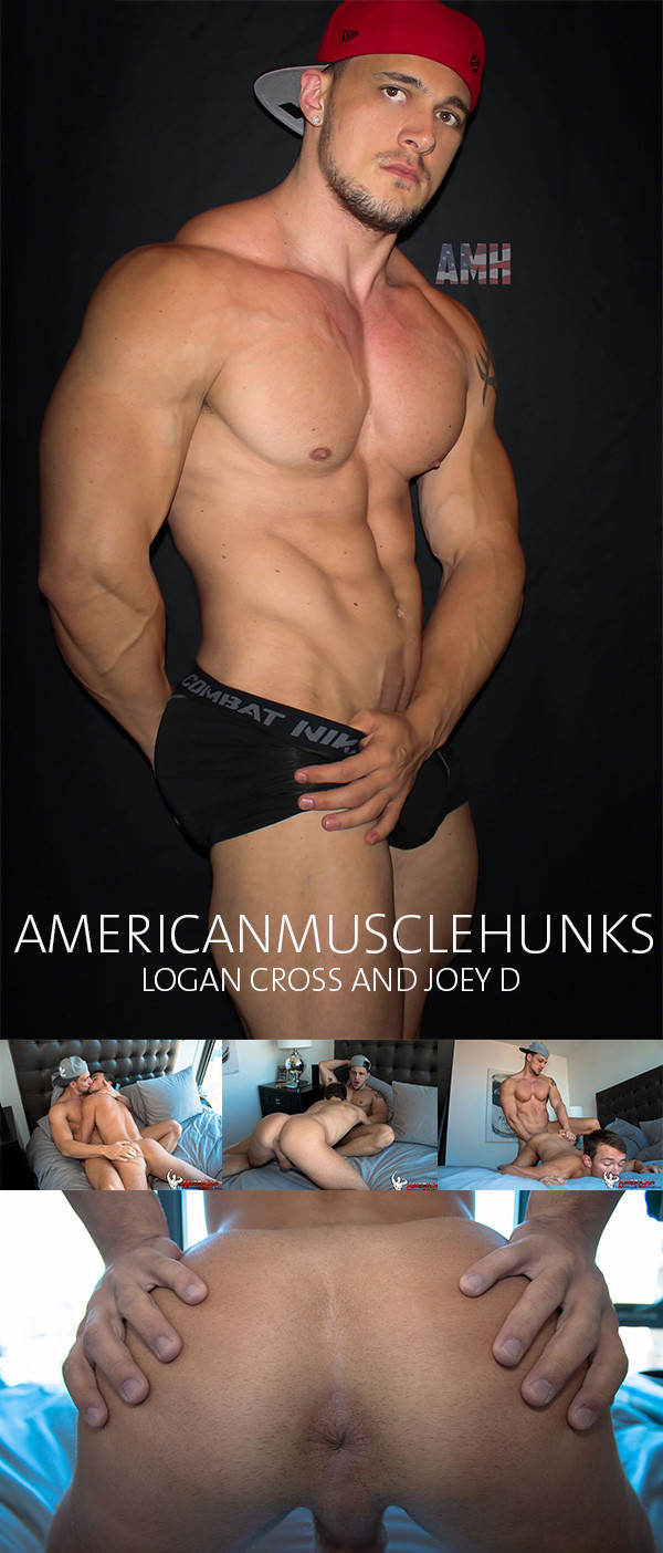 AmericanMuscleHunks Logan Cross Joey D