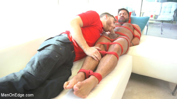MenOnEdge Delivery Gone Wrong - Uncut Stud Gets Edged By the Pizza Delivery Guy - Dominic Pacifico