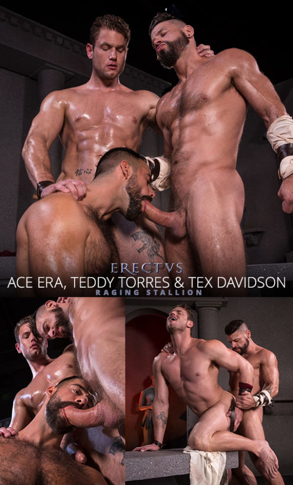 RagingStallion Erectus Tex Davidson, Ace Era and Teddy Torres