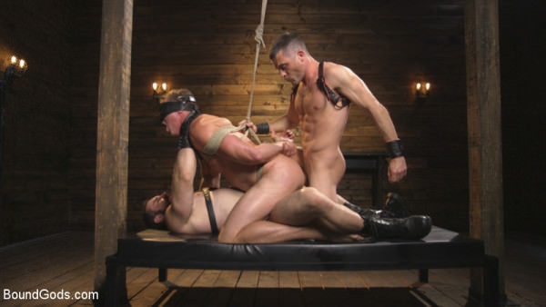 BoundGods Training Day Dom in training gets to break in a ripped, new slave - Jaxton Wheeler, Lance Hart Pierce Hartman
