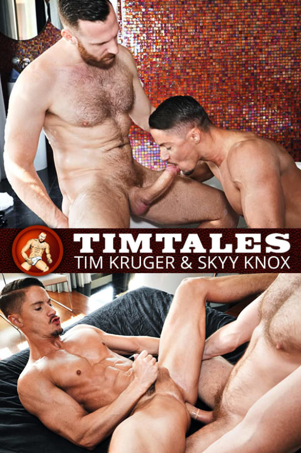 TimTales Skyy Knox bottoms for big-dicked Tim Kruger