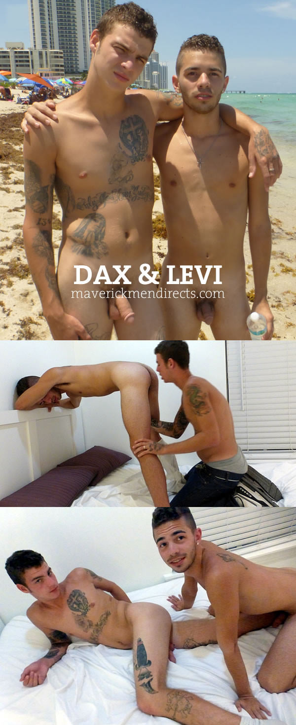 MaverickMenDirects Wicked Tiny Hole Monsta Cock Dax Levi Bareback