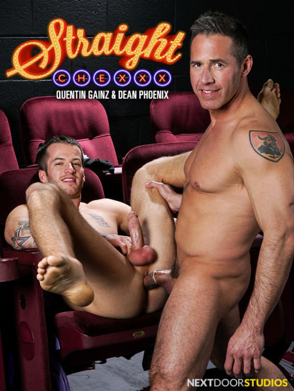 NextDoorStudios Straight Chexxx, Episode 3: Surprise! Quentin Gainz bottoms for Dean Phoenix