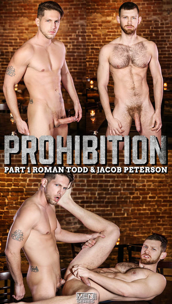 Str8toGay Prohibition, Part 1 Roman Todd fucks Jacob Peterson Men.com