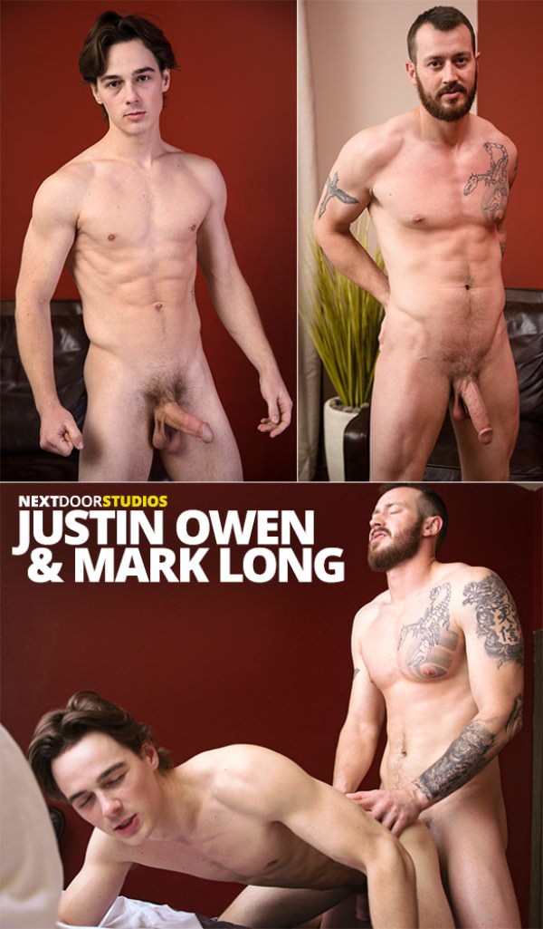 NextDoorBuddies Mark Long fucks Justin Owen