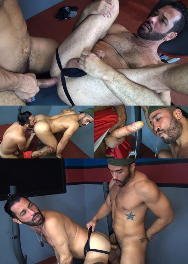 RawFuckClub - Hungry Bottom Gym Fuck