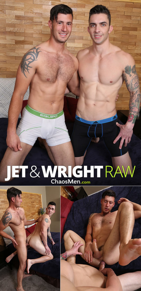 ChaosMen Jet and Wright flip fuck raw