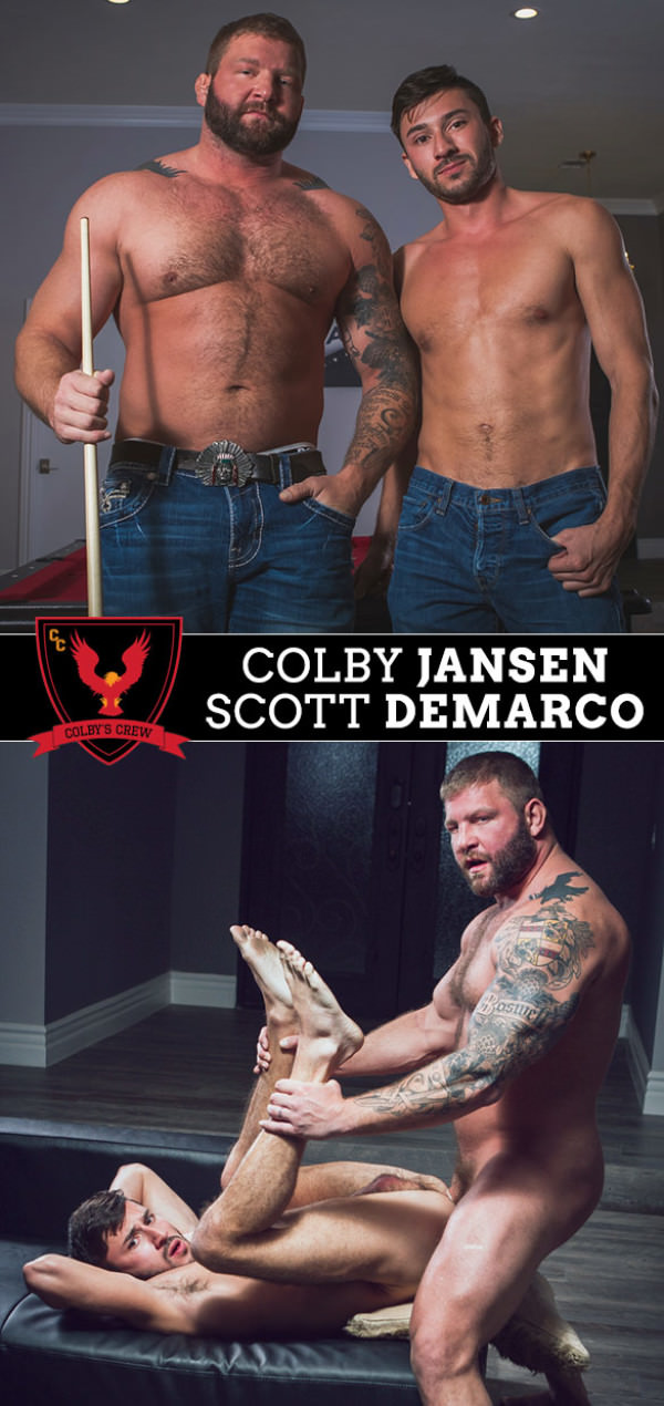 ColbysCrew Late Night Colby Jansen fucks Scott DeMarco