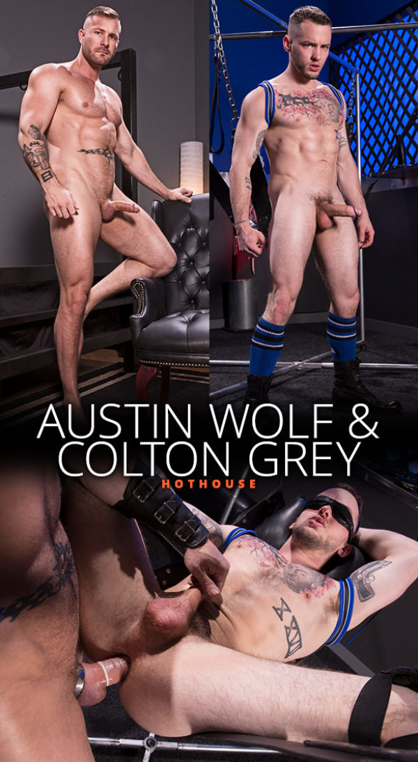 HotHouse Blindfolded Scene 3 Austin Wolf Colton Grey