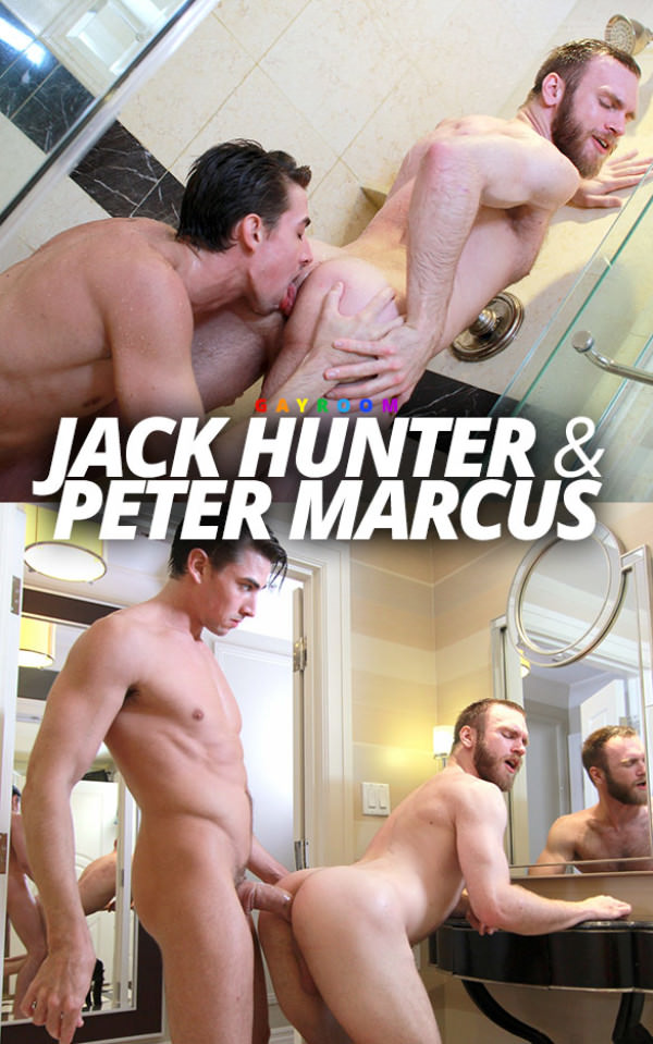 GayRoom Wet & Furry Jack Hunter Peter Marcus