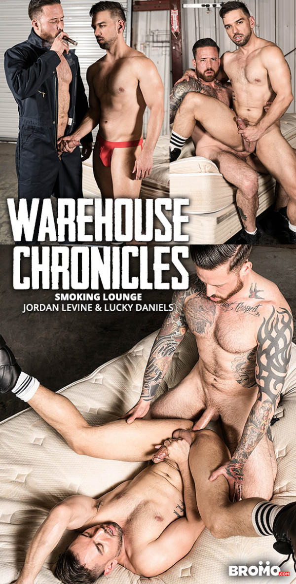 Bromo Warehouse Chronicles: Smoking Lounge Jordan Levine slams Lucky Daniels raw