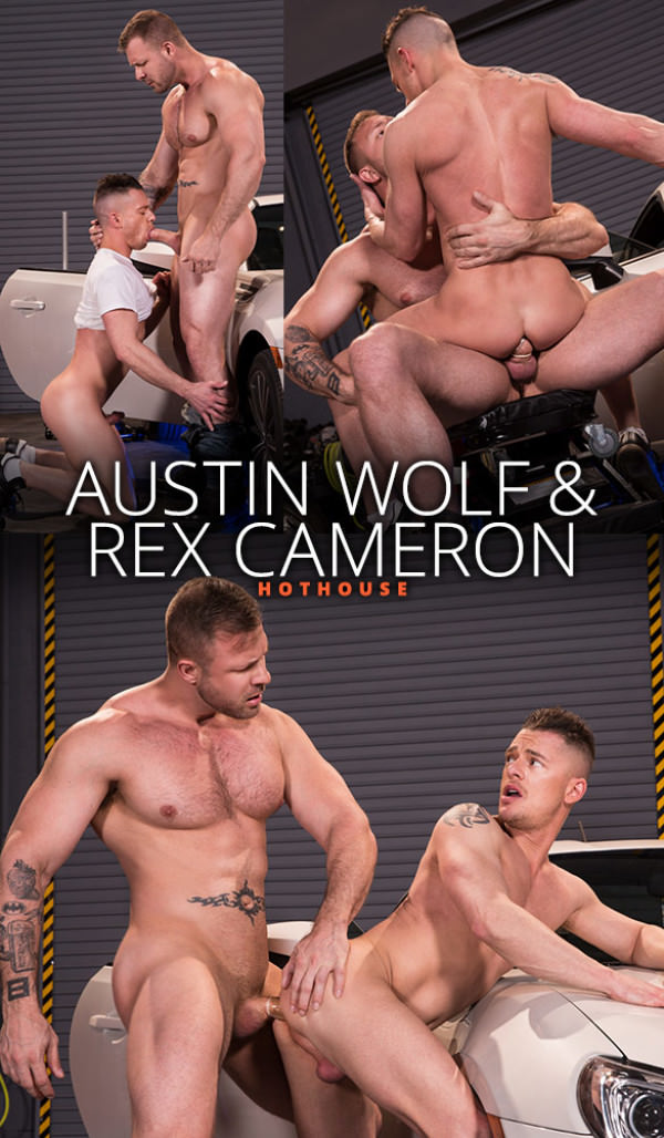 HotHouse Overpowered Austin Wolf bangs Rex Cameron