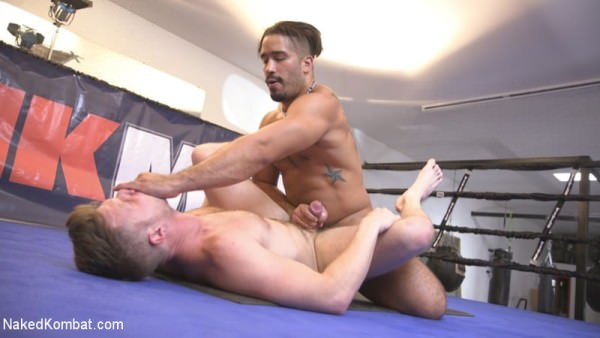 NakedKombat Two muscled hunks back for redemption! Trey Turner Brian Bonds