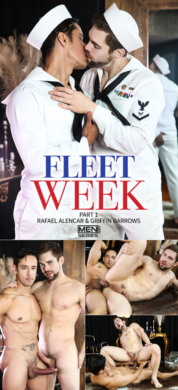 DrillMyHole Fleet Week, Part 1 Big-dicked Rafael Alencar bangs Griffin Barrows Men.com