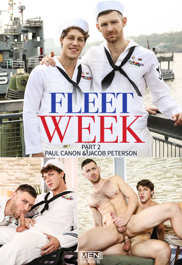 Drill My Hole Fleet Week Part 2 Paul Canon Jacob Peterson - Men.com