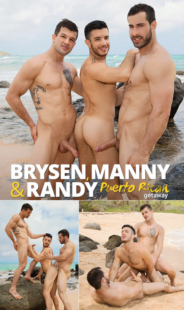 SeanCody Brysen Randy Tag-Team Manny Puerto Rican Getaway: DAY TWO Bareback