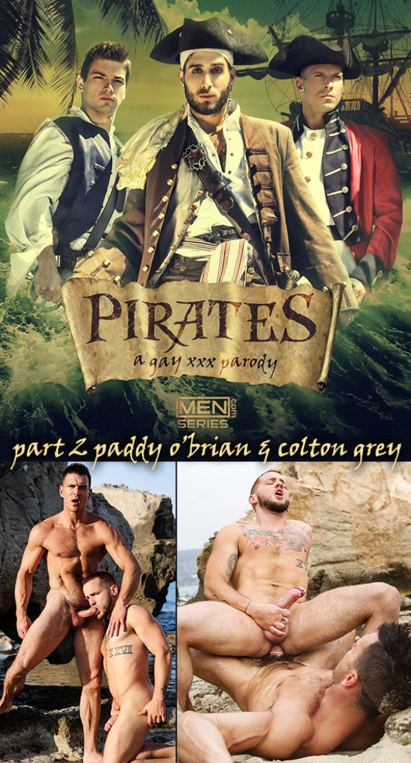 SuperGayHero Pirates: A Gay XXX Parody' Part 2 Paddy O'Brian Fucks Colton Grey Men.com