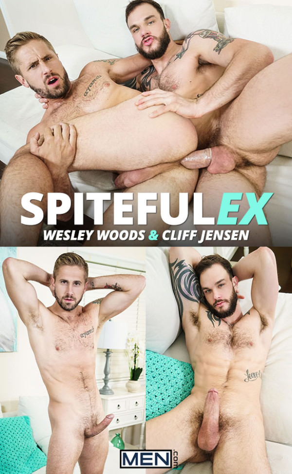 DrillMyHole Spiteful Ex Cliff Jensen tops Wesley Woods Men.com