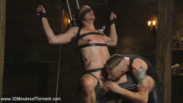 30MinutesOfTorment Hung stud Nate Grimes The Pit The Chair The Gimp Room