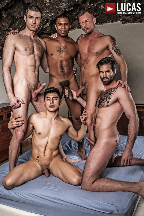 LucasEntertainment Ken Summers Leads a Five-Man Double Penetration Orgy Dani Robles, Ken Summers, Logan Rogue, Ralph Novak Sean Xavier Bareback