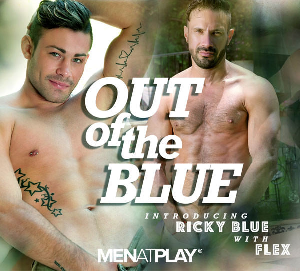 Menatplay Out Of The Blue Ricky Blue Flex