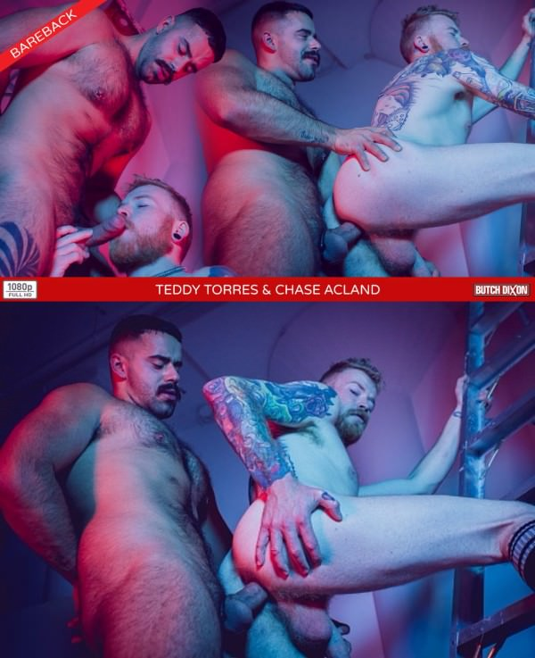 ButchDixon Teddy Torres Chase Acland Bareback