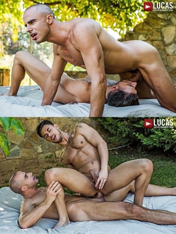 LucasEntertainment Diego Summers Pounds Sergyo's Ass Raw