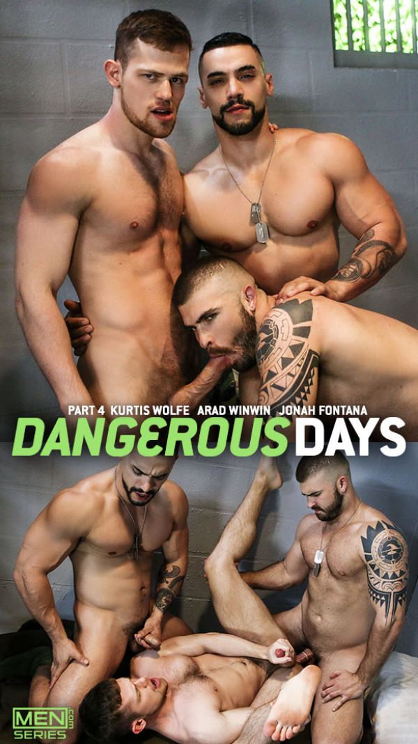 DrillMyHole Dangerous Days Part 4 Arad Winwin, Jonah Fontana Kurtis Wolfe's threeway fuck Men.com