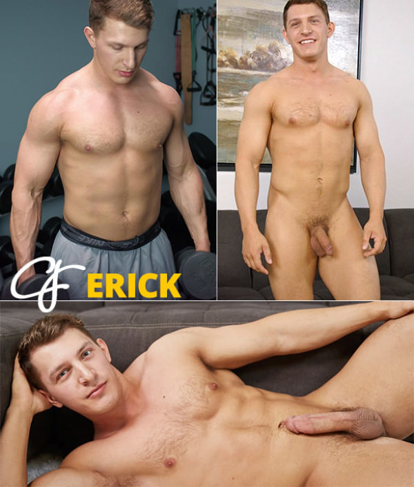 CorbinFisher Erick busts a nut Solo