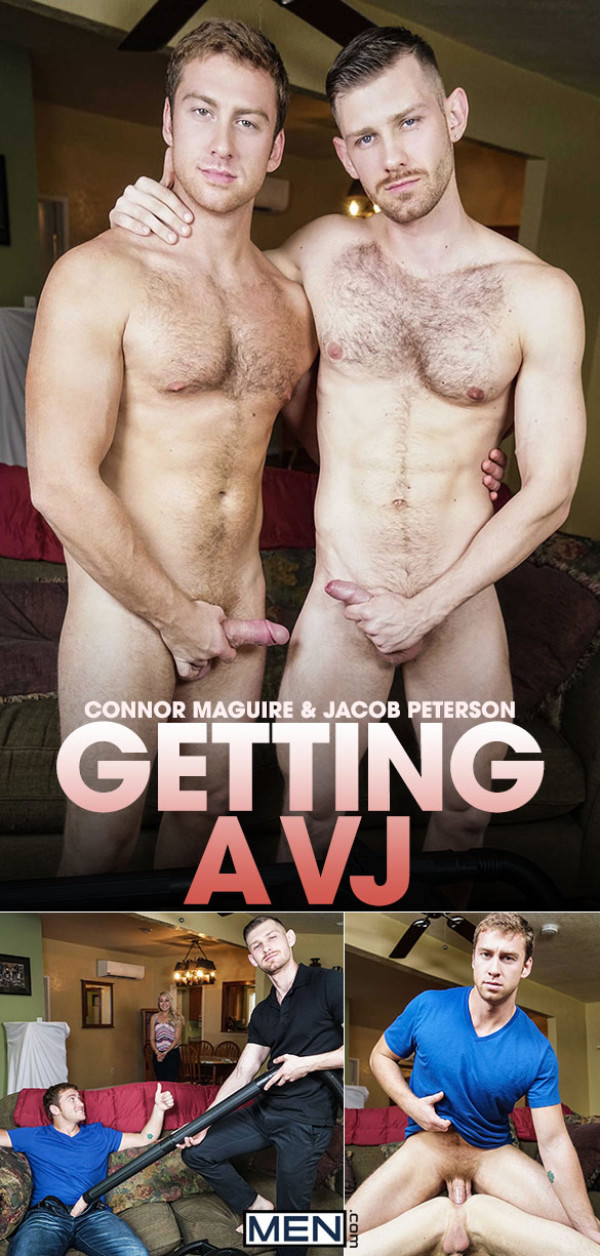 Str8toGay Getting a VJ Connor Maguire fucks Jacob Peterson Men.com