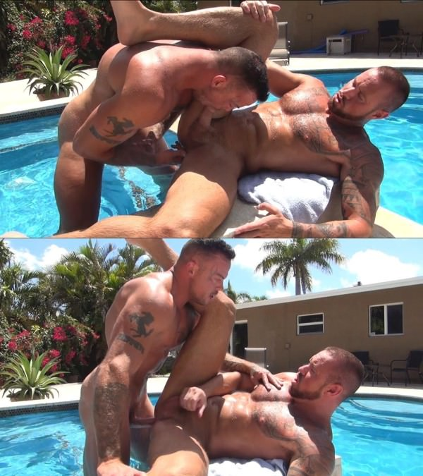 RawFuckClub Michael Roman Sean Duran Flip Fuck and Breed Bareback