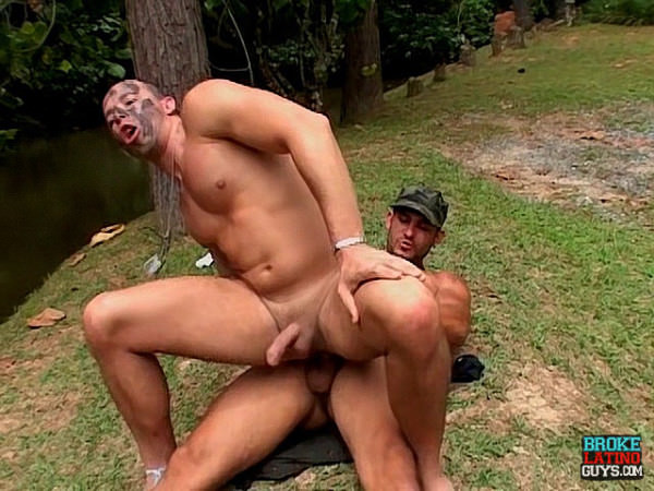 BrokeLatinoGuys Latino Bottom Dominated Fucked Outdoors