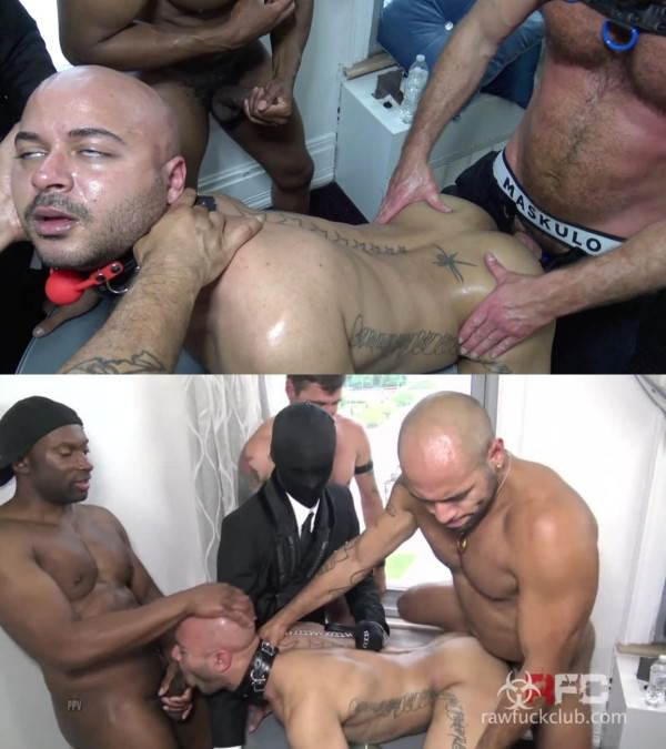 RawFuckClub Fuck My Bitch Up Champ Robinson, Leo Forte, Adam Black, David-SF Simon Santana Bareback