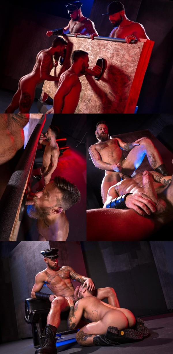 RagingStallion Beards, Bulges Ballsacks! Tex Davidson, Michael Roman, Hoytt Walker Ryan Finch