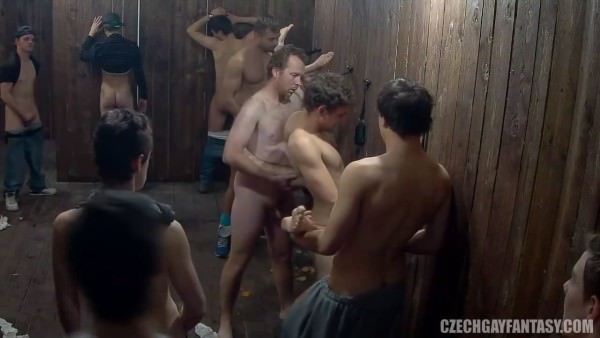 CzechGayFantasy Czech Bathouse Fuckfest