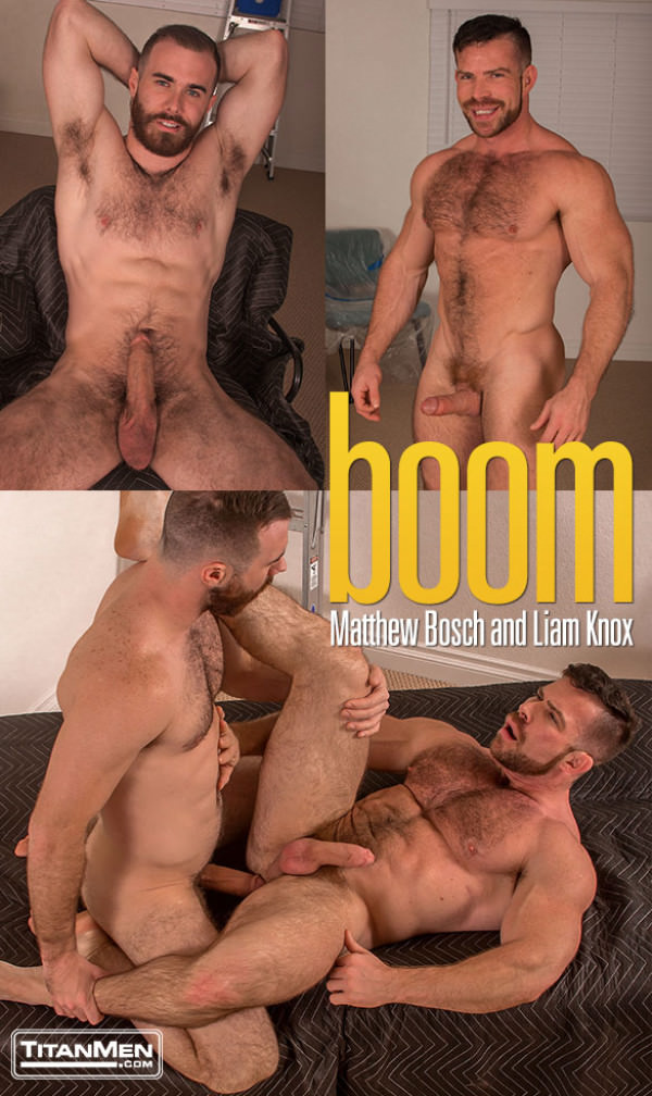 TitanMen Boom Big-dicked Matthew Bosch fucks Liam Knox