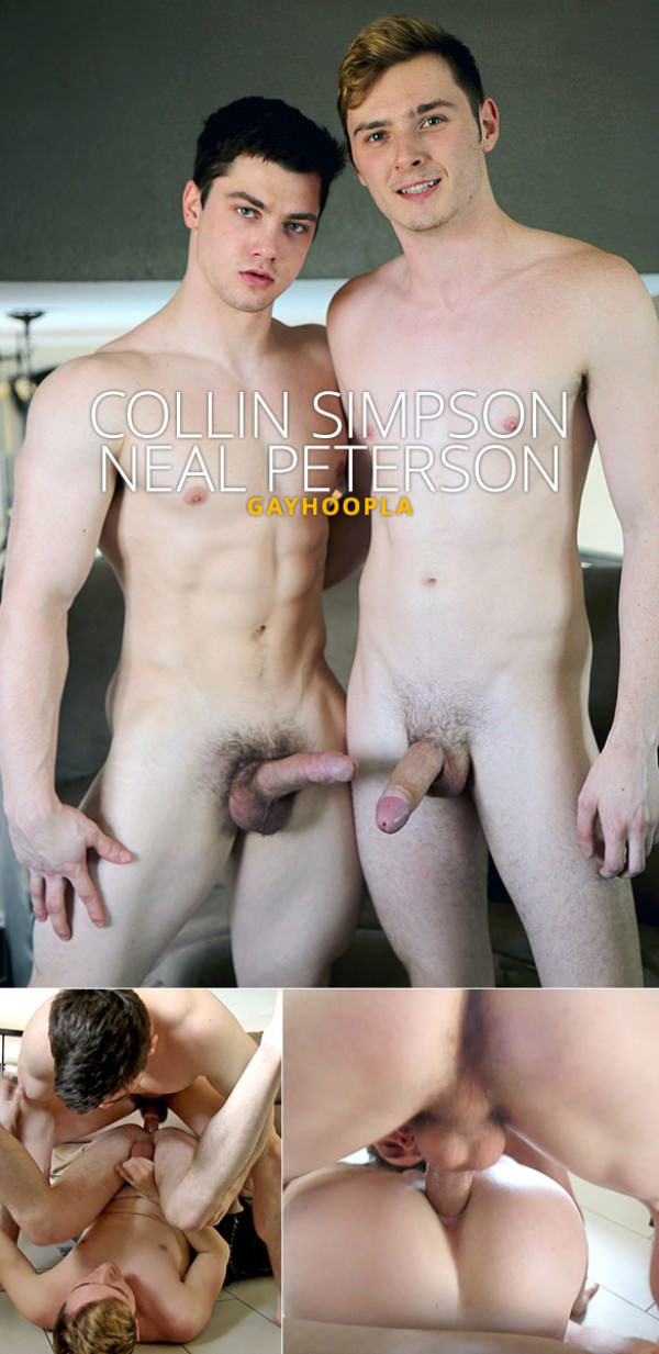 GayHoopla Collin Simpson bangs Neal Peterson