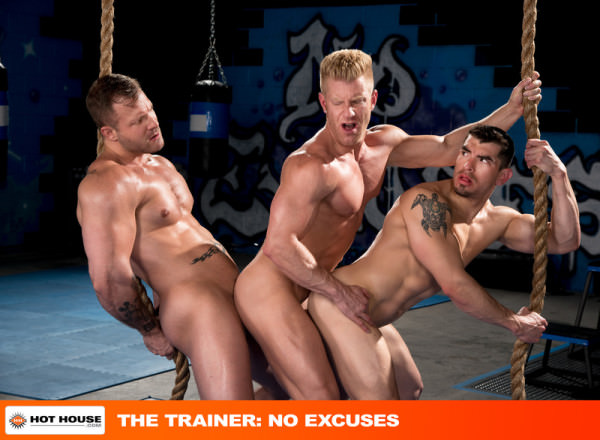 HotHouse The Trainer: No Excuses Johnny V, Austin Wolf Jeremy Spreadmus
