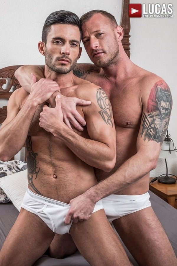 LucasEntertainment Logan Rogue Barebacks Andy Star