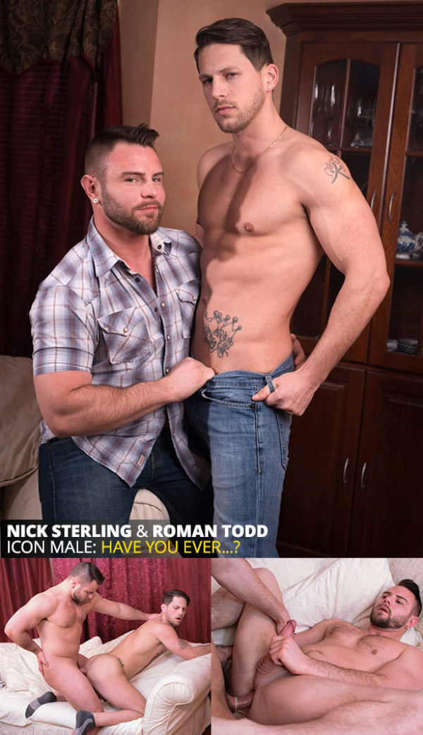 IconMale Truth or Dare Nick Sterling Roman Todd flip fuck