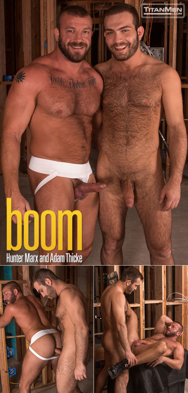 TitanMen Boom Adam Thicke fucks Hunter Marx