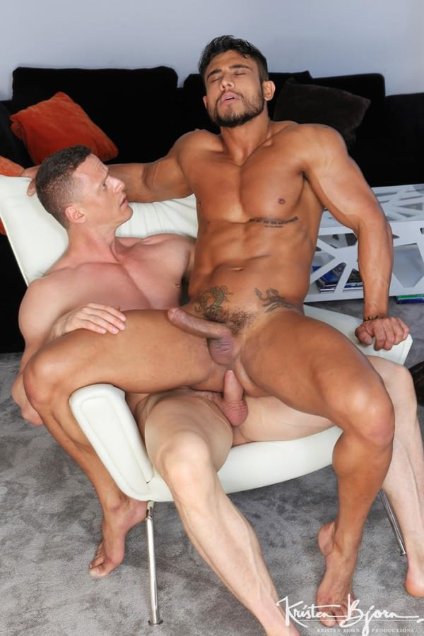 KristenBjorn Tight Fit Diego Lauzen &Ivan Gregory Bareback