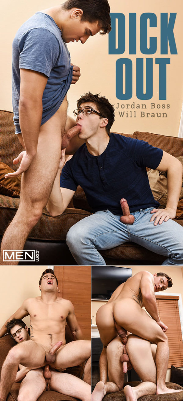 Men.com Dick Out Jordan Boss Will Braun flip fuck DrillMyHole