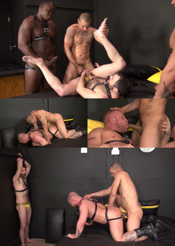 RawandRough Black Attack Part 1 - Redd, Dusty Williams, Texas Bull Daxton Ryker Bareback